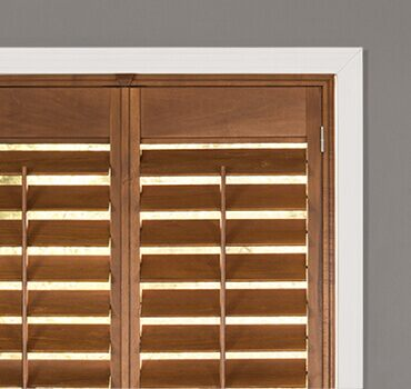 faux treatments blinds and com window bouclair wood blind fake en shades