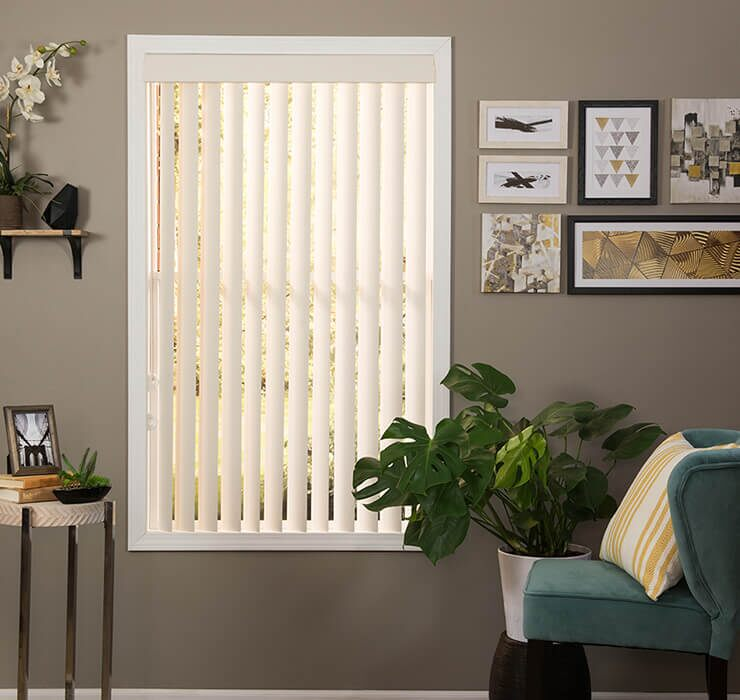 Vertical Blinds Window
